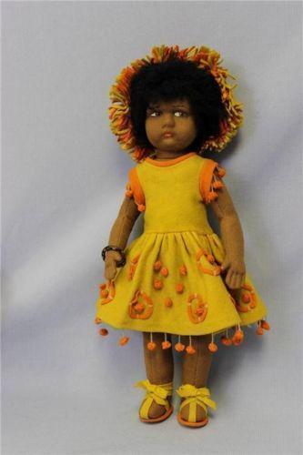 Antique black doll