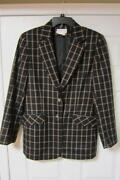 Womens Wool Blazer