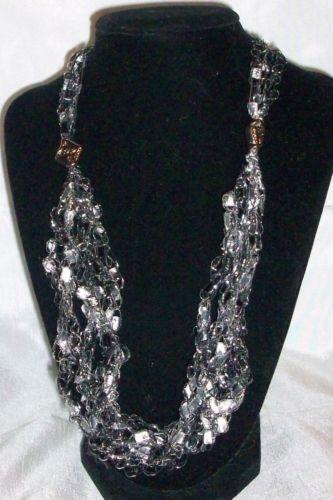 Trellis Yarn Necklace Ebay