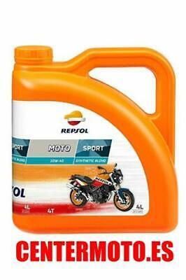 ACEITE DE MOTOR REPSOL 10W-40 SPORT 4L API SL, JASO MA-2