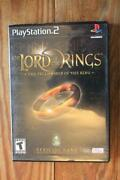 Lord of The Rings PS2
