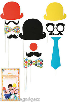 Carnival Fun Party Photo Booth Props Birthday Celebration Wedding Props