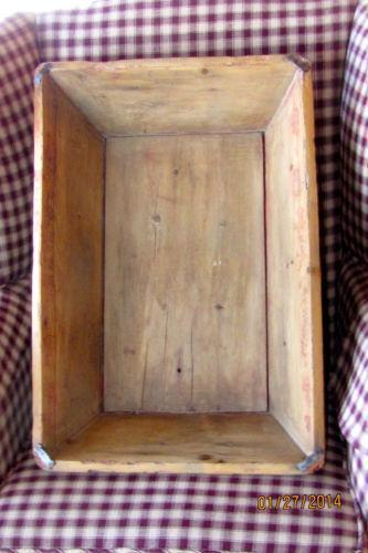 Antique Dough Box Ebay