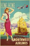 Northwest Airlines Poster