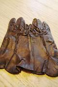 Vintage Leather Gloves