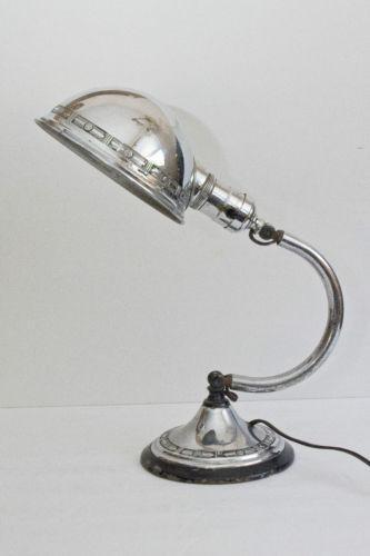 Antique Gooseneck Lamp Ebay