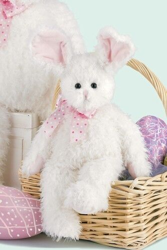 """Hunnybunny"" Plush Rabbit  for Easter by Bearington 14"""