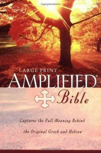 Amplified Thinline Holy Bible--bonded leather, black Zondervan / 2015 / Bonded L