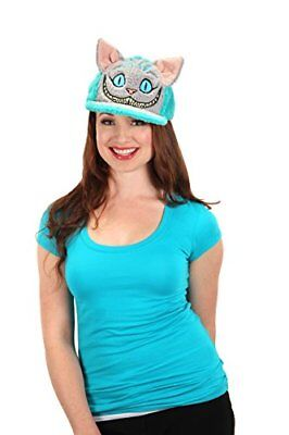 elope Disney's Alice Through the Looking Glass Cheshire Cat Fuzzy Cap - Cheshire Cat Costume Blue