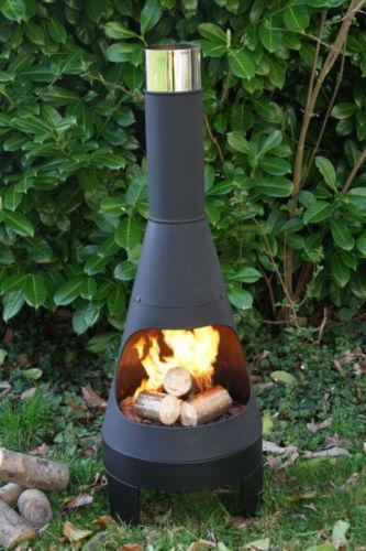 Steel Chiminea Barbecuing Amp Outdoor Heating Ebay