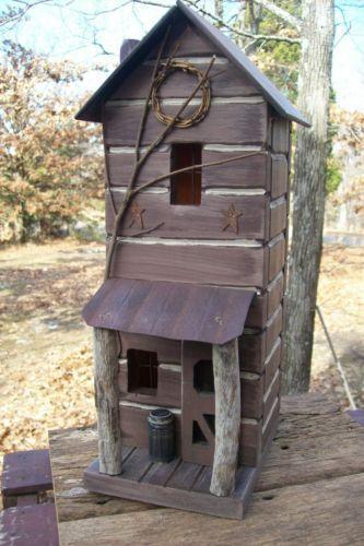 Country Birdhouse | eBay