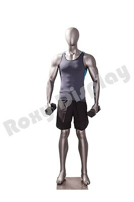 Male Fiberglass Sport Athletic Style Mannequin Dress Form Display Mc-jsm03
