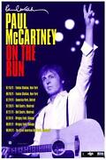 Paul McCartney Tour Poster