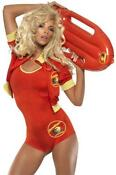 Ladies Baywatch Fancy Dress
