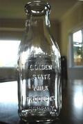 California Milk Bottle