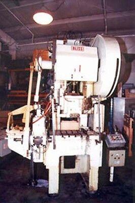 Bliss Model C60 Gap Frame Press Inv.1091