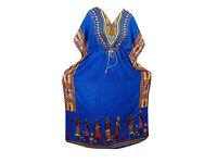 Kaftan Tribal Dashiki Print Kimono Sleeves Hippie Maxi Caftan Cover Up