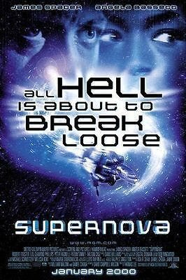 (Supernova Original Single-Sided One Sheet Rolled Movie Poster 27x40 NEW 2000)