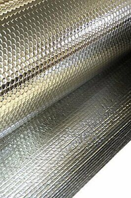 Sola 1.2m Wide Reflective Bubble Core Double Foil Thermal Barrier Insulation