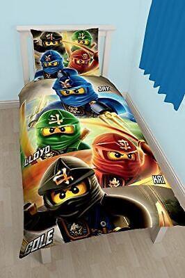 Lego Ninjago Quadrant Single Panel Duvet Cover Bedding