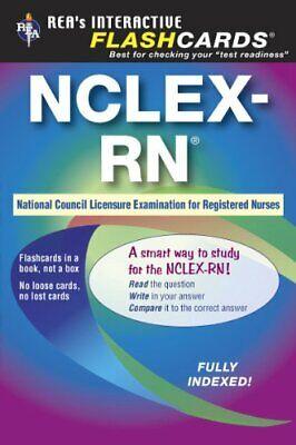 NCLEX-RN Interactive Flashcard Book (Flash Card Books) by Brandis RN, -