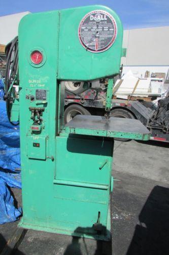 Doall Bandsaw Manufacturing Amp Metalworking Ebay