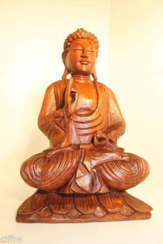 buddha statue gro ebay. Black Bedroom Furniture Sets. Home Design Ideas