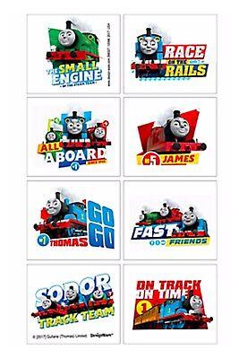 Thomas the Tank Engine Party Tattoos - Birthday Party Supplies Thomas - Favours ()
