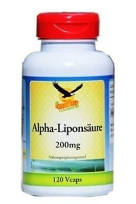 Alpha-liponsäure 200 Mg Kapseln (ALPHA-LIPONSÄURE 200MG, 120 VEG. KAPSELN)