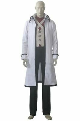 Fairy Tail Gray Fullbuster Halloween Cosplay Costume Outfit Uniform Custom Made: - Fairy Tail Halloween Gray
