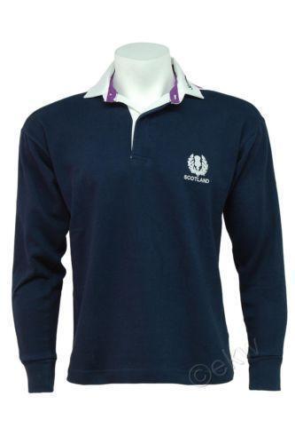 aa1a39d2628 Mens Scotland Rugby Shirt   eBay