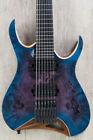 Blue Headless Electric Guitars