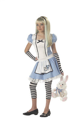 Alice in Wonderland Child Tween Halloween Costume - Alice In Wonderland Child Halloween Costumes