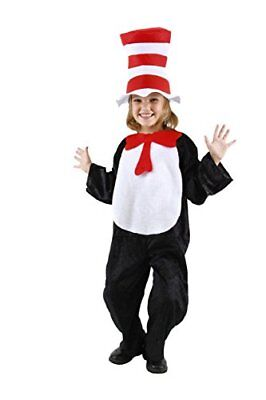 Dr. Seuss Cat in the Hat Kids Costume (4-6) by - Kids Dr Seuss Costume