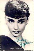 Audrey Hepburn Autogramm