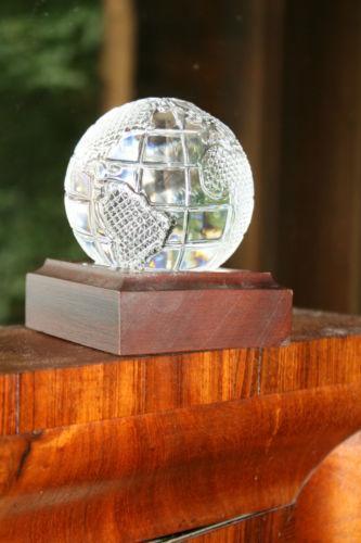 Waterford Crystal Globe Ebay