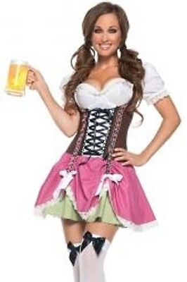 Spirit Swiss Hottie Costume Women's Size Large L 10-12 In Original Package EUC