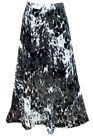 Gothic Chiffon Maxi Skirts for Women