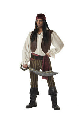 Adult Rogue Pirate Halloween Costume](Rogue Pirate Costume)