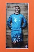 Autogrammkarte Manuel Neuer