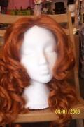 Long Ginger Wig