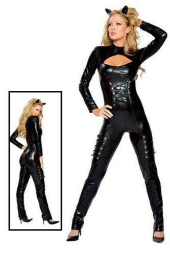 7ea2921f76b4 Leather Catwoman Costume | eBay