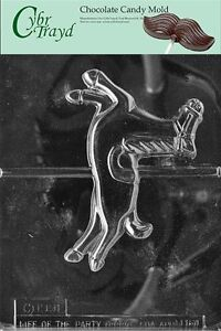 Large Carousel Horse Miscellaneous Chocolate Candy Mold