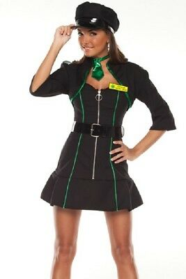 Officer Mary Jane Sexy Narcotics Cop Costume Size XS/S - Jane Sexy Kostüm