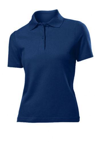 Navy Blue Polo Shirts Womens