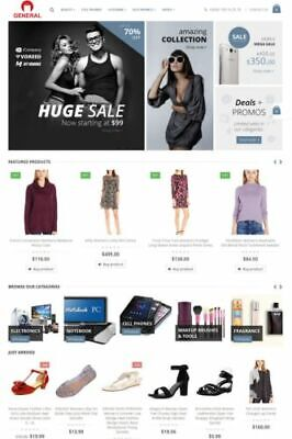 Amazon Ebay Aliexpress Affiliate Website For Sale All-in-one