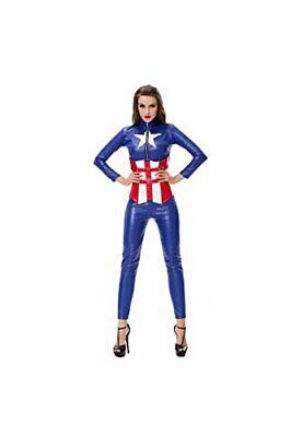 America Captain Character Design Costumes Fancy Dress jumpsuit (Captain America Kostüme Design)
