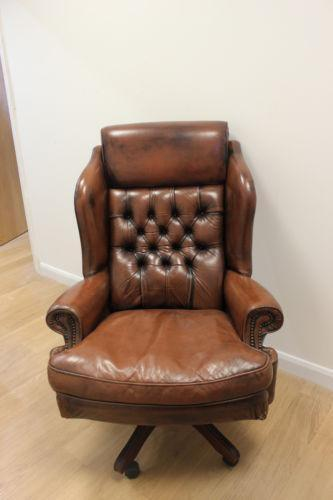 Chesterfield Swivel Chair Ebay