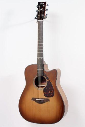 Used yamaha acoustic electric guitar ebay for Yamaha acoustic guitar ebay