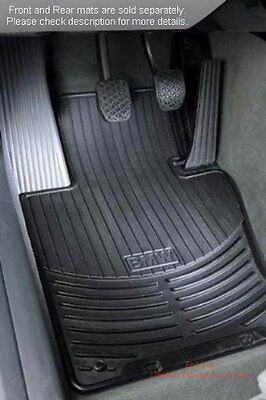 BMW X3 E83 all weather rubber floor mats    FRONT Black  82110305566